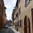 Alley in a small Bavarian town — Stock Photo