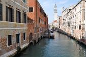 Venice street view — Stockfoto
