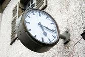Station Clock — 图库照片