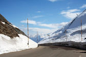 Alpine Pass — Stock Photo