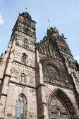 Lorenzkirche Cathedral — Stock Photo