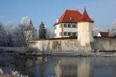 Château bavarois en hiver — Photo