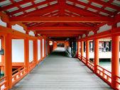Itsukoshima Shrine in Miyajima, Japan — Stock Photo