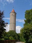Pozorovatelna v dinkelsbuehl, bavorsko — Stock fotografie