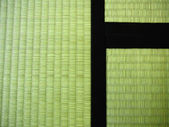3 Tatami mats (Detail) — Stock Photo