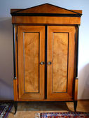 Biedermeier cabinet — Stock Photo