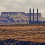 Factory In the desert — Stock Photo #7773925