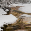 Geyser in Winter — Stock Photo #7774071