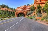 Bryce tunnel — Stockfoto