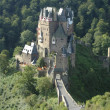 Burg Eltz in the forest - Stock Photo