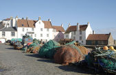 Harbour pier at Pittenweem — Stock Photo