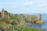 St. Andrews ancient castle — Stock Photo