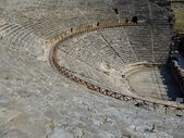 Greek amphitheater — Stock Photo