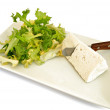 Ensalada con queso fresco - Stock Photo