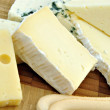 Trozos de queso - Stock Photo