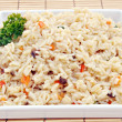 Arroz tres delicias - Stock Photo