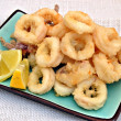 Calamares fritos - Stock Photo