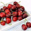 Varias cerezas — Stock Photo