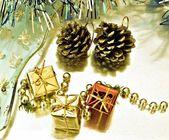 Tres cajas de regalo — Stockfoto
