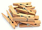 Pinzas de madera — Foto Stock