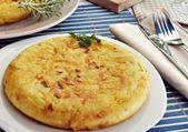Tortilla de patatas — Stock Photo