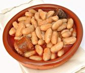 Fabada asturiana — Stock Photo