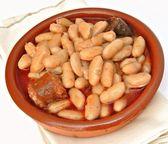 Fabada asturiana — Stock Photo