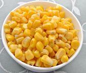 Plato de maiz — Stock Photo