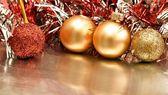 Bolas de navidad — Stock Photo
