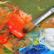Pintar oleos — Stock Photo