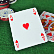 Fichas poker — Stock Photo