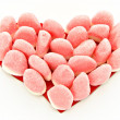 Corazon con gominolas — Stock Photo
