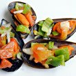 Mejillones a la vinagreta - Stock Photo