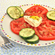 Ensalada de tomate y queso — Stock Photo #7792157