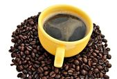Taza de cafe — Stock Photo