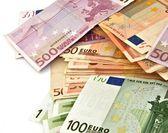 Billetes zona euro — Stok fotoğraf