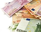 Billetes zony eura — Stock fotografie
