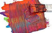 Pintura acrilica — Stock fotografie