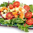 Ensalada de rucula y queso — Stock Photo #7818750