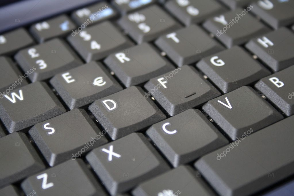 Black Keyboard  Stock Photo #7792731