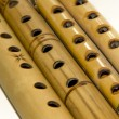 Bamboo flutes - Stock Photo