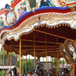 Stock Photo: Carousel with horses