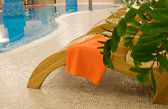 Relax chairs with towel — ストック写真
