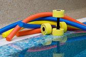 Water aerobics equipment — Stock Photo