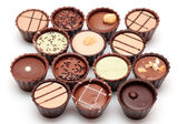 Mixed Chocolates — Stock Photo