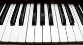 Piano Keys Musical Instrument — Stock Photo