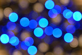 Blurred christmas lights. Holiday background — Stock Photo