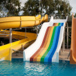Aquapark construction standart — Stockfoto #7880375