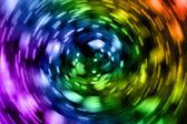 Multi-colored blurred light — Stock Photo