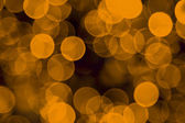 Defocused Yellow Light Holiday Background — Stock Photo